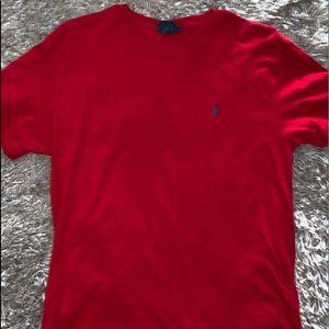 Red RL- Polo T-shirt